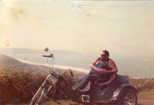 chilling by the sea bout `84