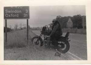 1976 on way to MAG run in London